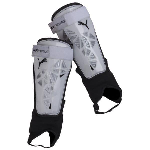 Puma Pro Training Shin Guard BTS Accessories White/Silver/Black